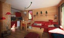 location appartement décor chalet serre chevalier